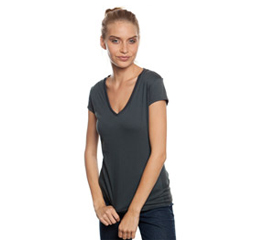 Organic Cotton with V Neck